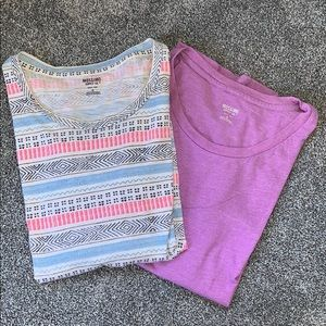 💜Patterned & Purple Tee Bundle🧚‍♀️